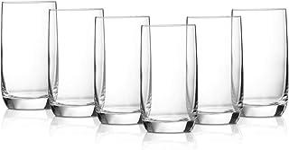 Borosil Vinne Glass Set, 340 ml, Set of 6