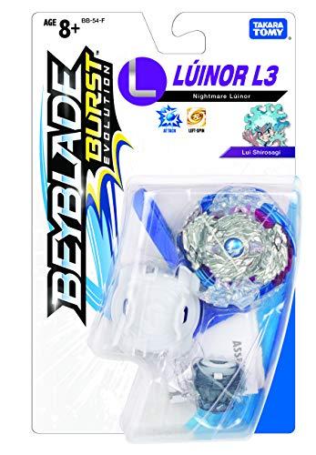 Takaratomy Plastic Beyblade Burst Evolution Nightmare Luinor, Multicolor