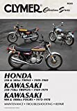 Vintage Japanese Street Bikes: Honda 205 305cc Twins - Kawasaki 250-750cc Triples - Kawasaki 900 1000cc Fours (Clymer Collection Series)