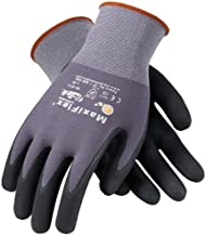 ATG 34-874/L MaxiFlex Ultimate - Nylon, Micro-Foam Nitrile Grip Gloves - Black/Gray - Large - 12 Pair Per Pack