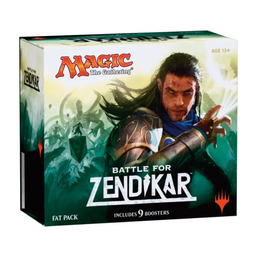 MAGIC BATTLE FOR ZENDIKAR FAT PACK INGLES: Amazon.es: Juguetes y juegos