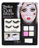 Horror-Shop Kit de maquillaje de la muñeca rota