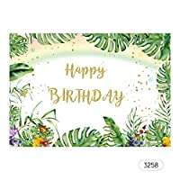 Baugger 7 * 5フィートお誕生日おめでとう漫画背景ベビーシャワー子供誕生日写真背景布子供カーニバルパーティー装飾写真スタジオアクセサリー#3258