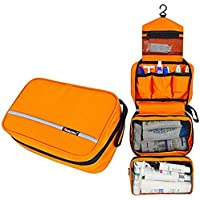 MONSTINA Travel Toiletry Bag Cosmetic Organizers with Hanging Hook