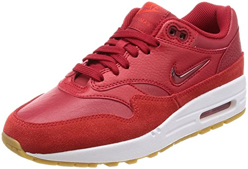 Nike W Air MAX 1 Premium SC, Zapatillas de Gimnasia Mujer, Rojo (Gym Red/Gym Red/Speed Red 602), 39 EU