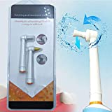 Teeth Whitening Polisher Tooth Cleaning Replacement Polishing Brush Heads Refill Compatible with/Replacement for Electric Toothbrush 2Pieces