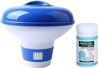 Dispensador de tabletas químicas, dispensador de tabletas químicas duraderas para Piscinas, para Piscinas sobre el Suelo Limpiador de Piscinas para Piscinas subterráneas SPA