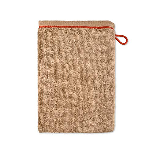 Möve Cashmere & Cotton Gant de Toilette, Wood, 20 x 15 cm