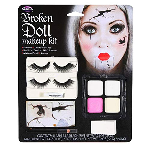 Gebrochene Puppe Halloween Make-up-Kit