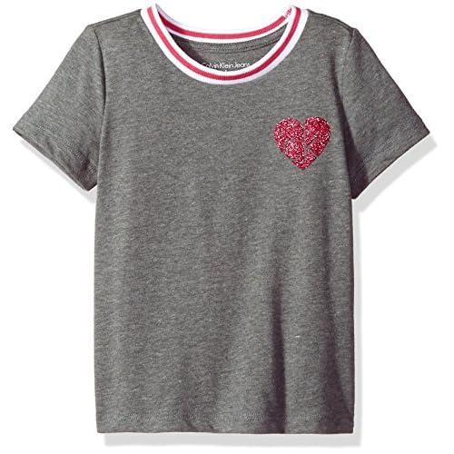 Calvin Klein Girl's Calvin Graphic Tee T-Shirt