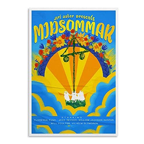MZDesign Ashley Vargas 'Midsummer Festival Movie Canvas Posters and Prints Arte De La Pared Pintura Imágenes Decoración del Hogar-50X70Cmx1Pcs -Sin Marco