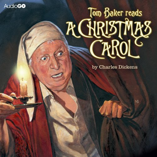 Tom Baker Reads 'A Christmas Carol' cover art