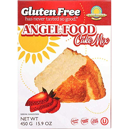 Kinnikinnick Gluten Free Angel Food Cake Mix, 16 Ounce -- 6 per case.