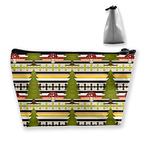 Multi-Functional Print Trapezoidal Storage Bag for Female Cuckoo Coordinate Stripes