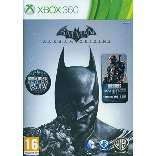 X360 batman : arkham origins - heroes and villains + deathstroke dlc (eu)