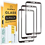 [3-PACK]-Mr.Shield For MOTO Z3 Play/Moto Z3 (Verizon) [Japan Tempered Glass] [9H Hardness] [Full Cover] Screen Protector with Lifetime Replacement
