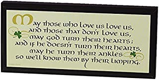 Abbey Gift Those Who Love Us Irish Plaque