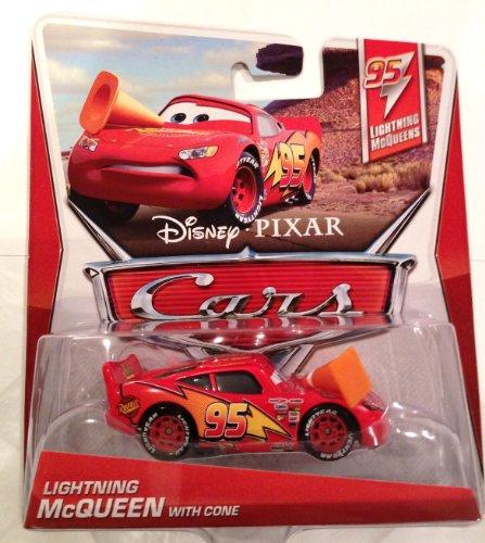 Disney Cars Cast 1:55 - Fahrzeugauswahl Sort.1 Lightning Mcqueen Mit Pylon - T95