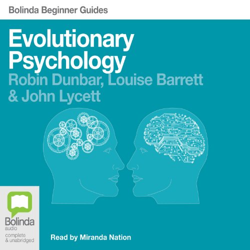 Evolutionary Psychology: Bolinda Beginner Guides audiobook cover art