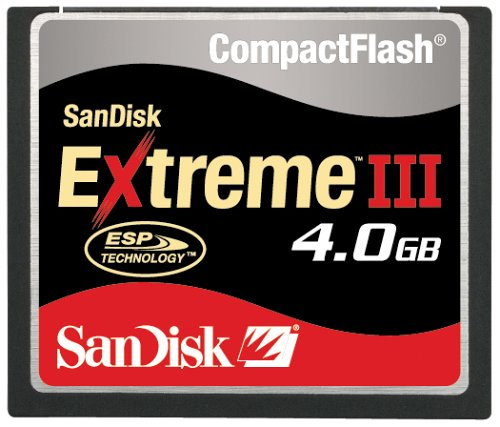 Sandisk Extreme III Compact Flash 4 GB