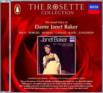 Bach/Purcell/Rameau/Cavalli/Ravel/Chausson - Janet Baker