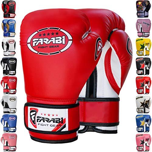 Farabi Sports Kids Boxing Gloves Junior Boxing Gloves Junior MMA Muay Thai Kickboxing and Punching...