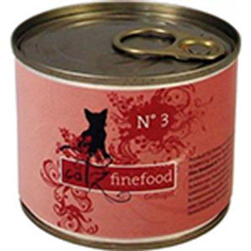 Catz finefood Lot de 24 sachets de 200 g de volaille