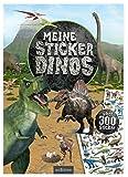 Meine Sticker-Dinos: Mit über 300 Stickern (Mein Stickerbuch)