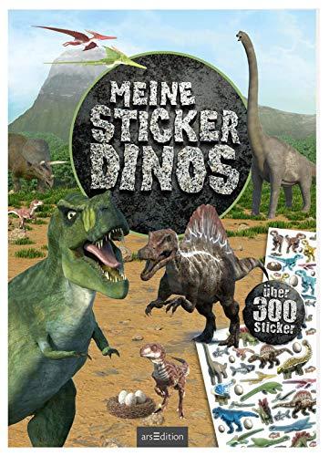 Meine Sticker-Dinos: Über 300 Sticker   Stickerheft für Saurier-Fans ab 4 Jahren (Mein Stickerbuch)