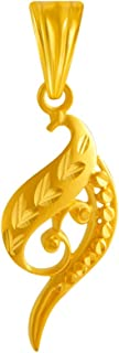P.C. Chandra Jewellers 22KT Yellow Gold Pendant for Women