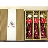 奥出雲薔薇「さ姫」 Premium 魅惑のローズシロップ 120ml×3本セット 1箱
