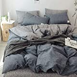 BFMBCH Bedroom Hotel Washed Cotton Bedding Steppdecke Bettlaken Dreiteiliges vierteiliges Set N1 150cm * 200cm