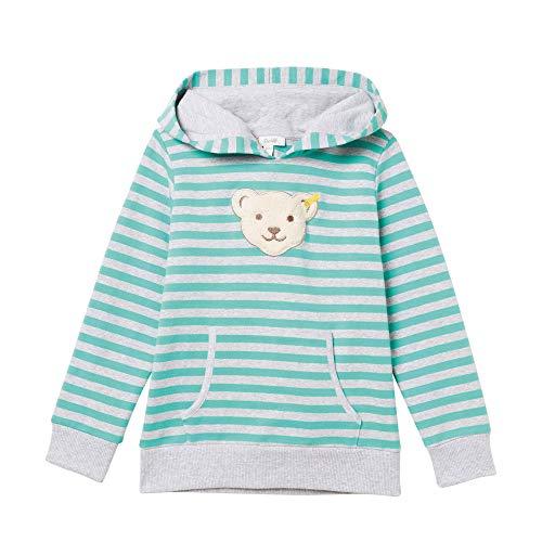 Steiff Jungen Sweatshirt, Grün (Aqua Green 5007), 116