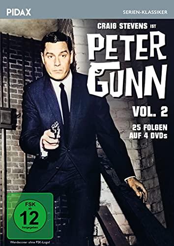 Peter Gunn, Vol. 2 / Weitere 25 Folgen der Kult-Krimiserie mit Craig Stevens (Pidax Serien-Klassiker) [4 DVDs]