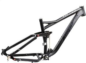SHIYANLI Bicycle Frame Full Suspension Frame 29ER 27.5ER Aluminium Alloy MTB Frame Mountain DH Cycling Downhill Bike Acces...