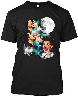 Jean Ralphio The Woooorst Three Jean Moon Unisex T-Shirt|Sweatshirt,Black,Small