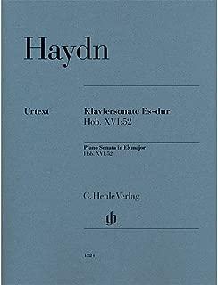 G. Henle Verlag Piano Sonata in E-flat Major, Hob. XVI:52 Henle Music Folios Series Softcover