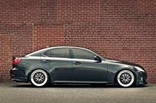 Driver Motorsports Lexus IS250 is Grey Right Side on SSR Wheels HD Poster Jumbo 48 X 32 Inch Print