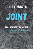 i just had joint replacement in my hip: Perfect Hip Replacement Surgery Recovery Gift For Women, Men, Teens and Kids - Get Well Soon Activity ..