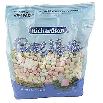 Richardson Pastel Mints 4lbs Bag  Pack of 2