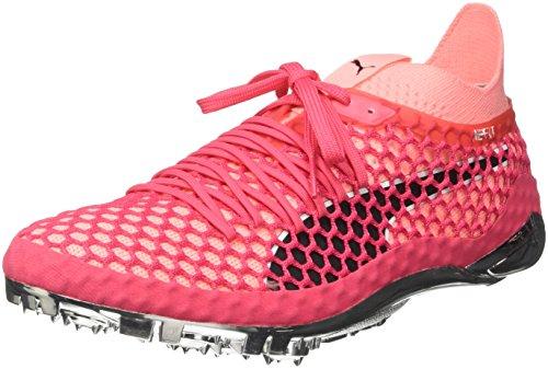 Puma Puma Unisex-Erwachsene Evospeed Netfit Sprint Leichtathletikschuhe, Pink (Paradise Pink-Soft Fluo Peach Black), 46 EU