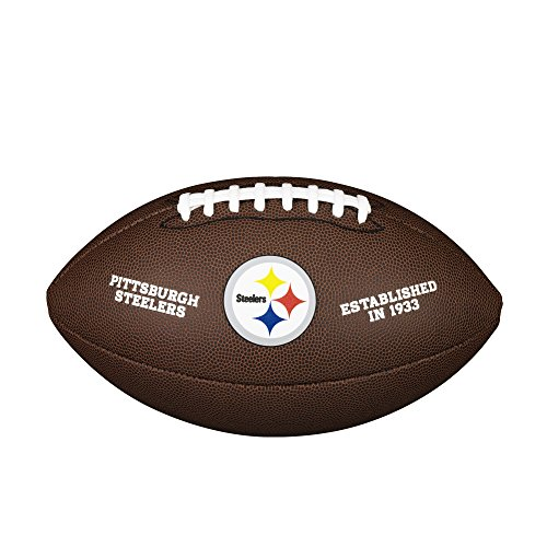 NFL Team Logo Composite Football, Official - Pittsburgh Steelers