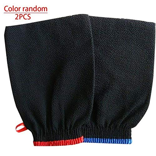 NO BAND 2ST hammam douche bad magie peeling handschoen peeling tan verwijderen Kessa willekeurige kleur
