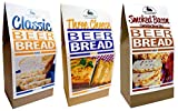 Rabbit Creek Beer Bread Mix Variety Pack of 3 – Classic Beer Bread, Smoked Bacon & Three Cheese...