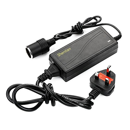 Shentian Power Supply Cigarette Lighter Socket AC to DC Adapter 110V-240V...