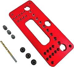 Handvat pitch punch locator aluminium pocket gat pitch jig set garderobe deur positioner rood