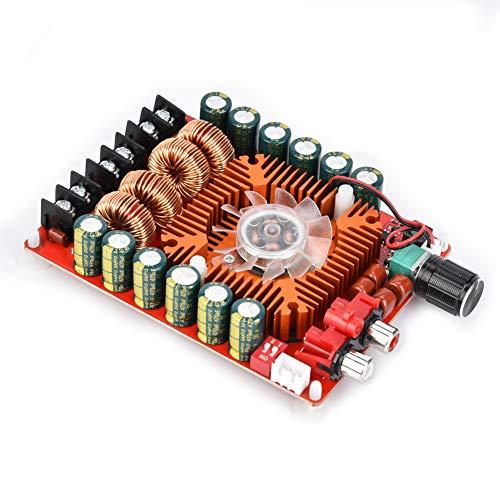 Germerse Placa de Amplificador de Potencia, Audio Digital de Alta Potencia 15~24VDC 2x160W para Altavoz de Cine en casa, Audio para automóvil, Alta fidelidad