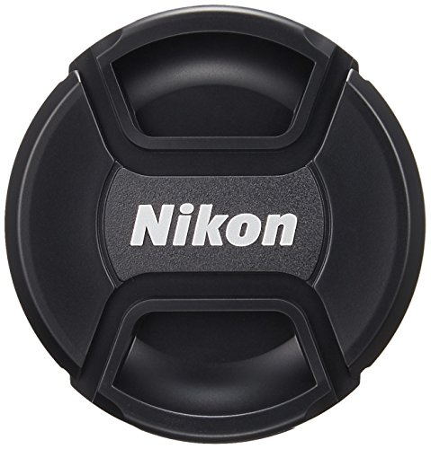 Nikon JAD10401 - Tapa para Objetivos LC-67 de 67 mm, Negro