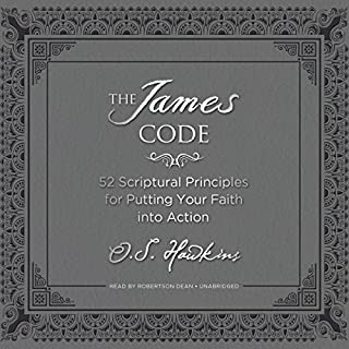The James Code audiobook cover art
