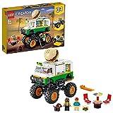 LEGO31104CreatorMonsterTruckHamburgueseríaJuguetedeConstrucción